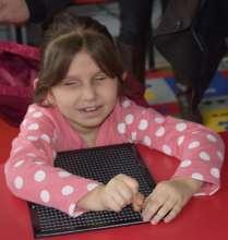 Nine year-old Besiana