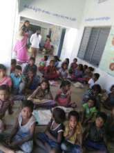 Migrated children from Odisha state