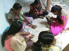Skills training for the children