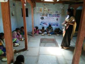 BASS operating a school for the rescued children