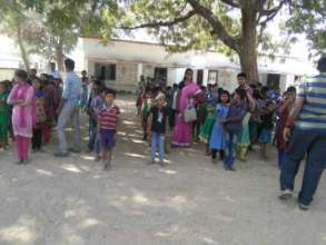 Migrated children from Odisha