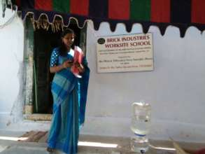 BASS work site school for migrate famili children