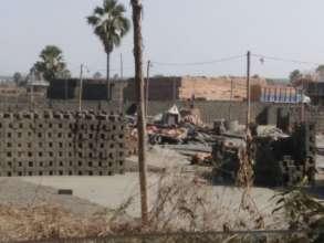 Brick kilns area