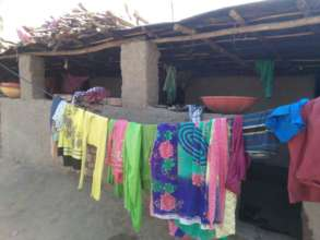Living huts for Migrated families