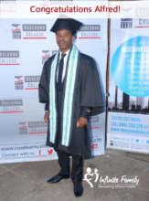 Alfred, The Graduate, June 2017 Johannesburg