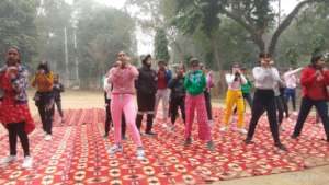 activities being conducted to keep the girls busy