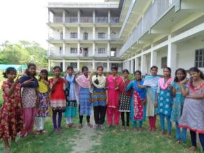 Nayantara Girls Cheers at their victory