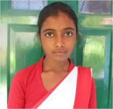 Mitali*- with hopes in her eyes
