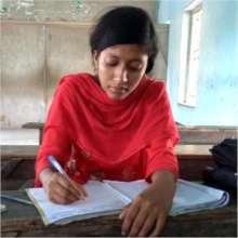 Sufia engrossed in studies