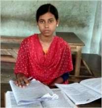 Sujata while in studies