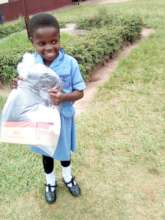 A fully recovered Nomthandazo at school