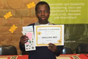 Spelling bee certificate of participating