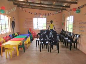 Inside one of our care centres