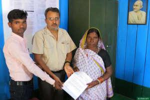Family members of the late Pothi Ram Yadav.