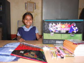 Educational aid motivate girl to attend school