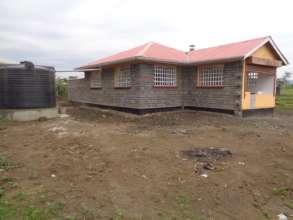 LLK School Kitchen Construction Side View
