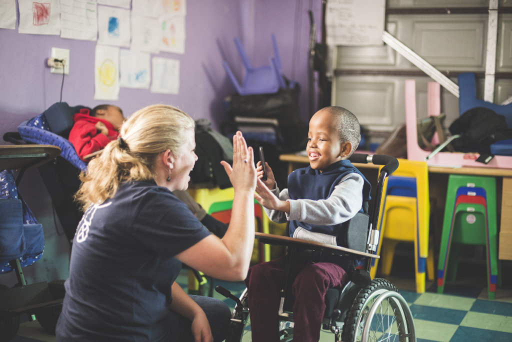 Inclusivity for disabled children in South Africa