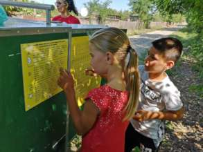 Mobile School activity in the countryside