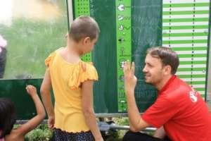 Mobile School - Education for Children in Romania