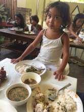 Regular feeding of girls