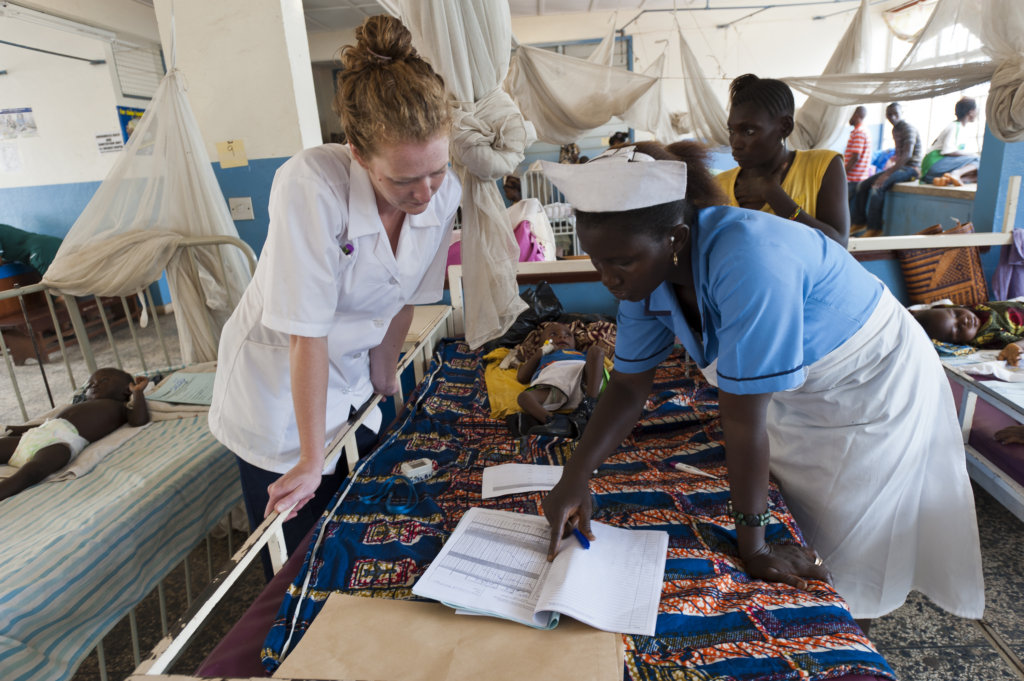 Saving Lives of Children & Mothers in Sierra Leone