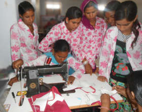 Bag making Vocational Education