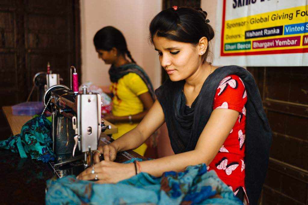 Provide Skills training for 30 Rural Indian Girls