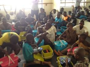 Sanitation Kits Given Last Year