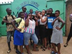 Students in Akazi Kanoze program