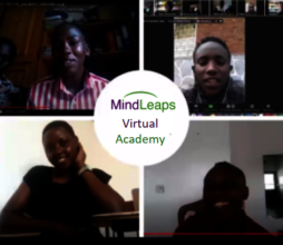 MindLeaps students present their business ideas