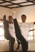 Girls After 3 Months in Dance Class