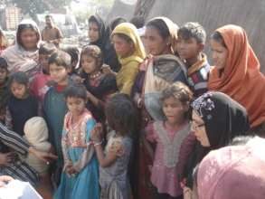 mothers participating in awareness session