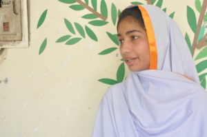 Farida sharing her fear with director of Muwakhat