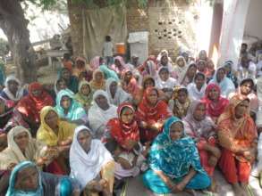 Awareness session on education to mothers