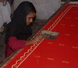 Sakina left her school to support family