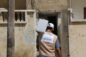 Ration being Delivered at Doorstep