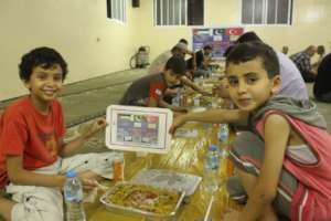 Food for Children of Syrian Refugees