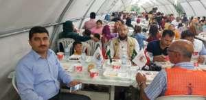 Dinner for Syrian Refugees living in Turkey