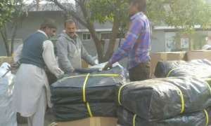 relief goods for Syrian refugees