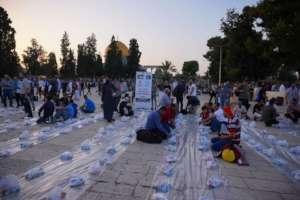 Aftaar being arranged for Syrian Refugees