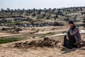 Ya'akub's widow in Umm al-Hiran