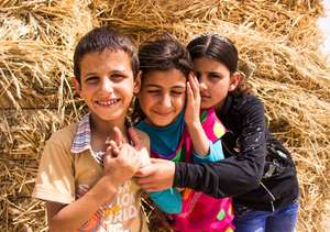 Mahmoud, Asmaa and Aya - Siblings of Umm al-Hiran