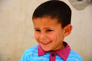 Child of Umm al-Hiran