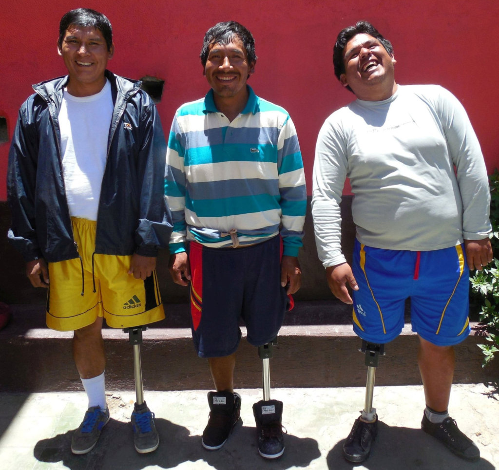 Prosthetic Limbs for 50 Poor Bolivian Amputees