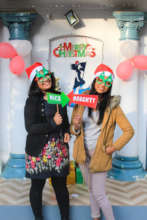 Subina and Manisha, Mentor/Mentee Christmas Party