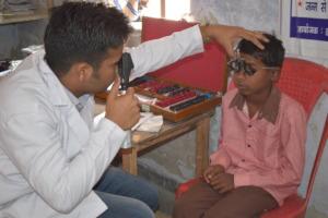 Eye care screening in India