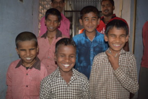 Children During An Eye Camp