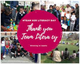 Thank you to Team Literacy