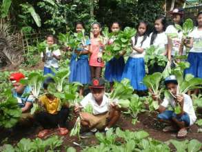 Bunot Elementary School garden