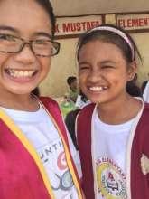 6th Grade volunteer nurses at Sheikh Mustafa ES